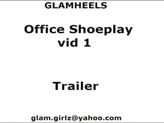 The office xxx spoof trailer Office shoeplay vid 1 trailer