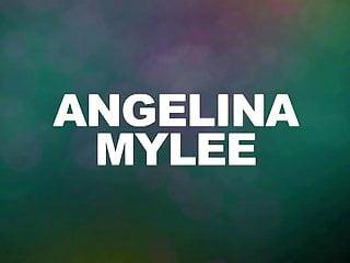 Mylee escort Angelina mylee does her first porn scene