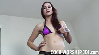 Lets work on your cock sucking skills JOI