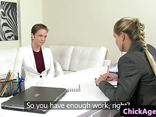 Sexy female lesbian - Female lesbian casting agent pussylicked