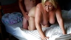 Drilling the hot blond wife