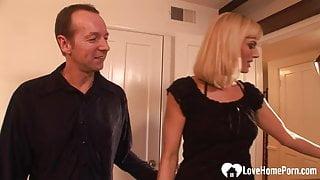 Blonde MILF gets her love tunnels plowed