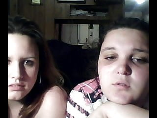 Fat teen lesbian porn Fat chubby teens playing with their tits and pussy on cam-3