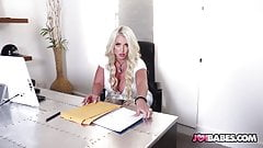 Thick Busty Co-worker Gives JOI Dirty Talk - Alura Jenson
