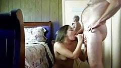 Sexy wife loves to suck my Cock