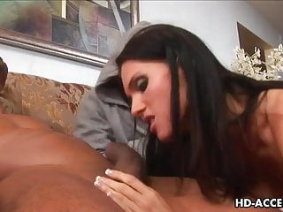 Sexy black dude Sexy brunette loving gangbang with black dudes