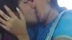 indian  girl's hot kiss