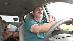 Kate fuck in a car