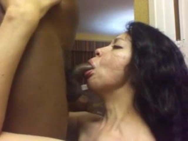 Latina Bbc Blowjob Swallow