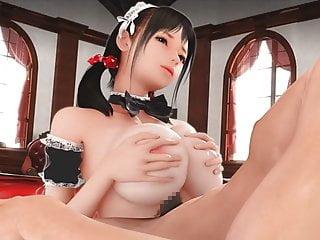 Rikku ffx-2 hentai Super naughty maid 2 3d