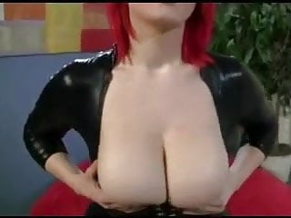 Redhead busty beauty Beautiful busty redhead sucks dick pov