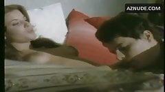 J. Tamburi in white panties in bed