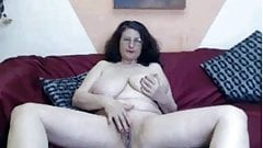 hanging granny tits