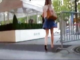 Jamie pressley upskirt oops Windy oops of french girl