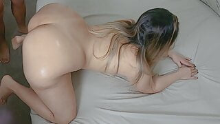 My PAWG Stepmom Loves Doggystyle Fuck