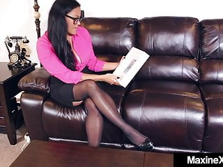 Big harry cock Milf maxine x teaches skylar harris how to orgasm
