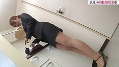 Asian secretary fucked hard by the boss