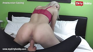 MyDirtyHobby - Cheating babe riding her personal trainer, POV