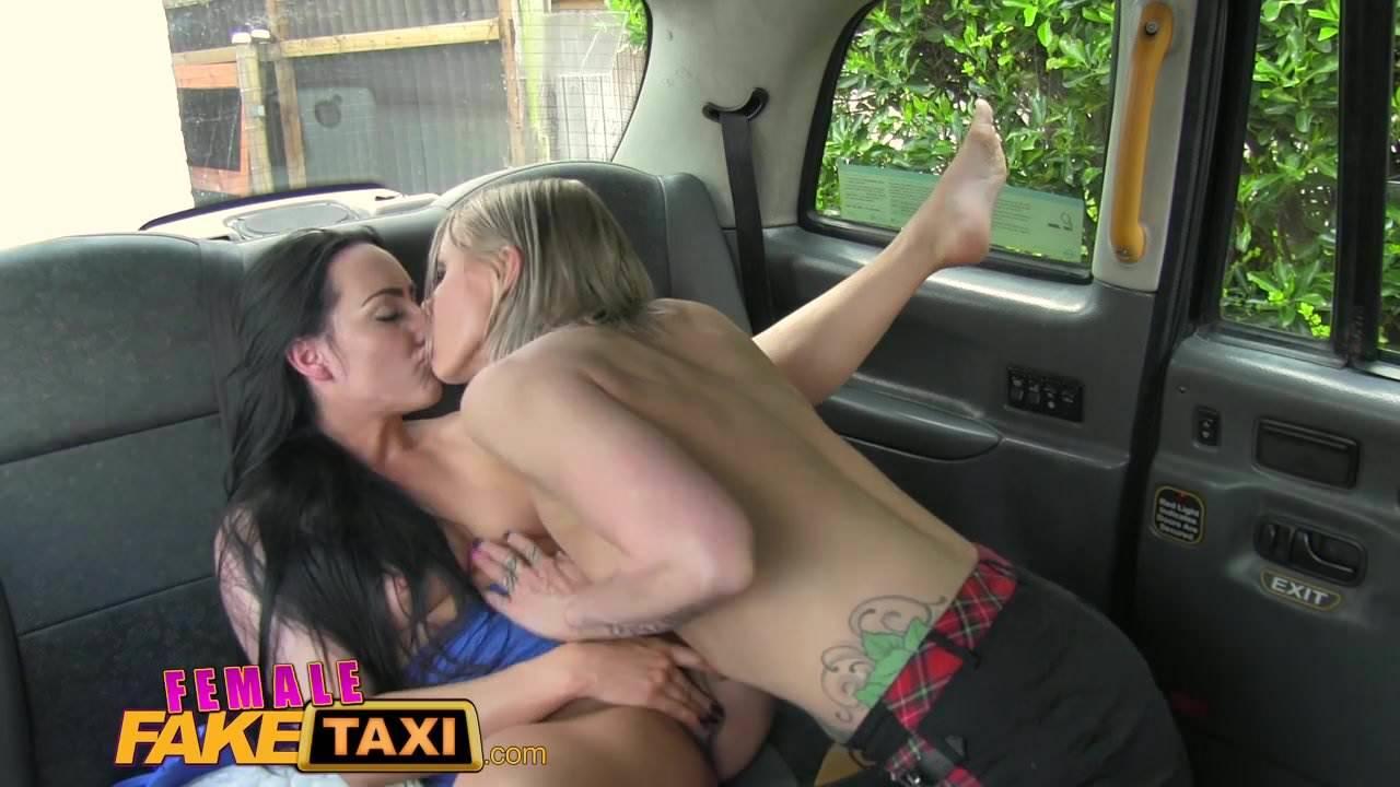 Lesbian fake taxi Free Female