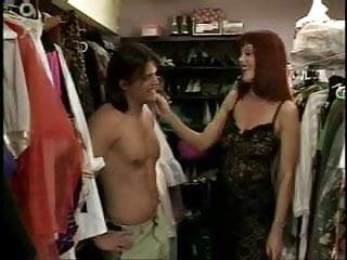 Tranny wardrobe Milf ruby wardrobe