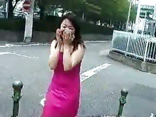 Shy girls naked Shy japanese girl slowly gets naked in public