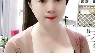 Big Tit Asian MILF Masturbating