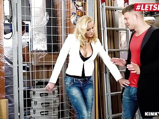 Gloryhole mmf sex - Letsdoeit - milf stepmom klara has mmf sex with her stepson