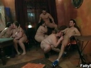 Drunk sex party fat girl Fat girl gets screwed in various positions