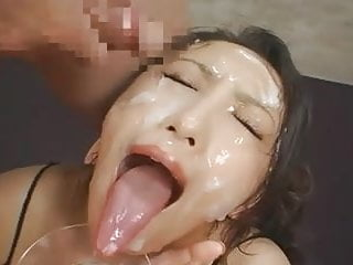 Blow job long tongue - Long tongue japanese bukkake