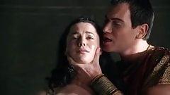 Very erotic TV scene