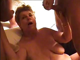 Adult entertainment porn doggie friends Divorcee janet entertaining two of her sons friends