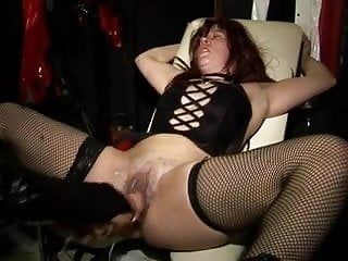 Girl being drowned bdsm Latex girls in chair being cured