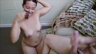 Cheating his with a sexy married MILF