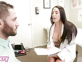 Horny doctors fuck there patients Trickery - doctor angela white fucks the wrong patient