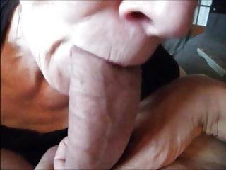 Grandma suck black dick - Grandma sucking dick till cum