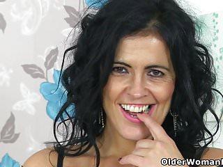 Spanish curvy ass Curvy milf montse swinger finger fucks her cunt
