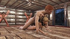 Fallout 4 Marie Rose gets fucked