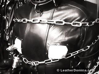 Bondage leather tgp The leather domina - leather fetish - total leather bondage