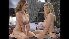 Erica Campbell in bed with Danni Ashe, upscaled to 4K