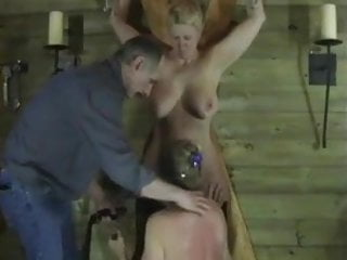 Mature older women free Two older women enjoy bdsm spanking