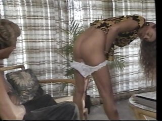 Blonde sex couple couch Blonde couple enjoy reverse cowgirl on the couch