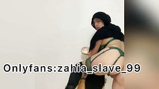 Arab Masturbates In Submission