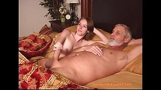 Taboo dad and stepdaughters BUSTED
