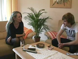 Step mom son sex videos - German young son seduce step-mom to get first fuck