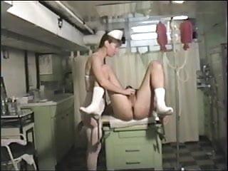 Prostate massage masturbation health cancer gland Nurse uses the prostate massager on him