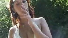 She's Smoking