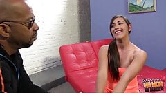 Sexy mom and daughter Caroline and Rilynn fucked by black