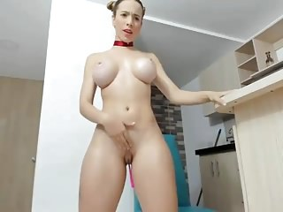 Fake breast for man - Fake-breasted latin cam-slut atm