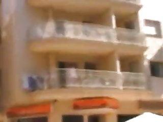 Mature women panties pantygirdles Women cleaning balcony no panties upskirt 1