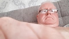 Handsome Dad Wanking